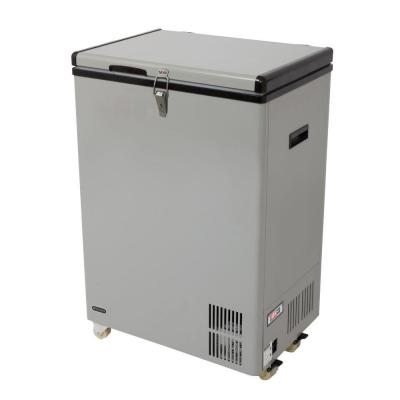 3.18 cu. ft. Portable Refrigerator/Freezer in Gray