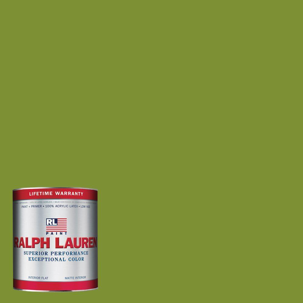 Ralph Lauren 1-qt. Southern Green Flat Interior Paint