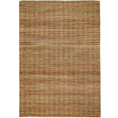 Contemporary Hebrides Rectangle 9 Ft X 12 Braided Natural Fiber Indoor Area Rug