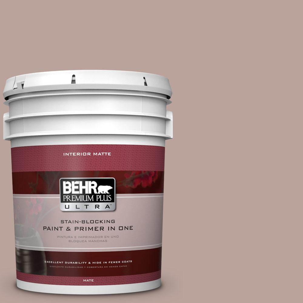 5 gal. #N150-3 Cocoa Craving Matte Interior Paint