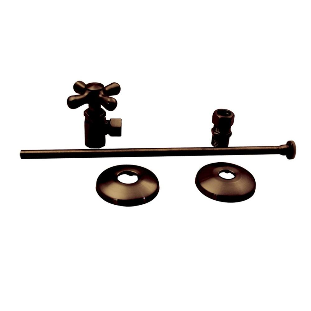 Belle Foret Universal Toilet Supply Kit in Oil Rubbed Bronze