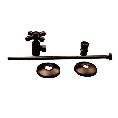Universal Toilet Supply Kit in Oil Rubbed Bronze