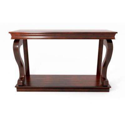 Angelia Cherry Console Table