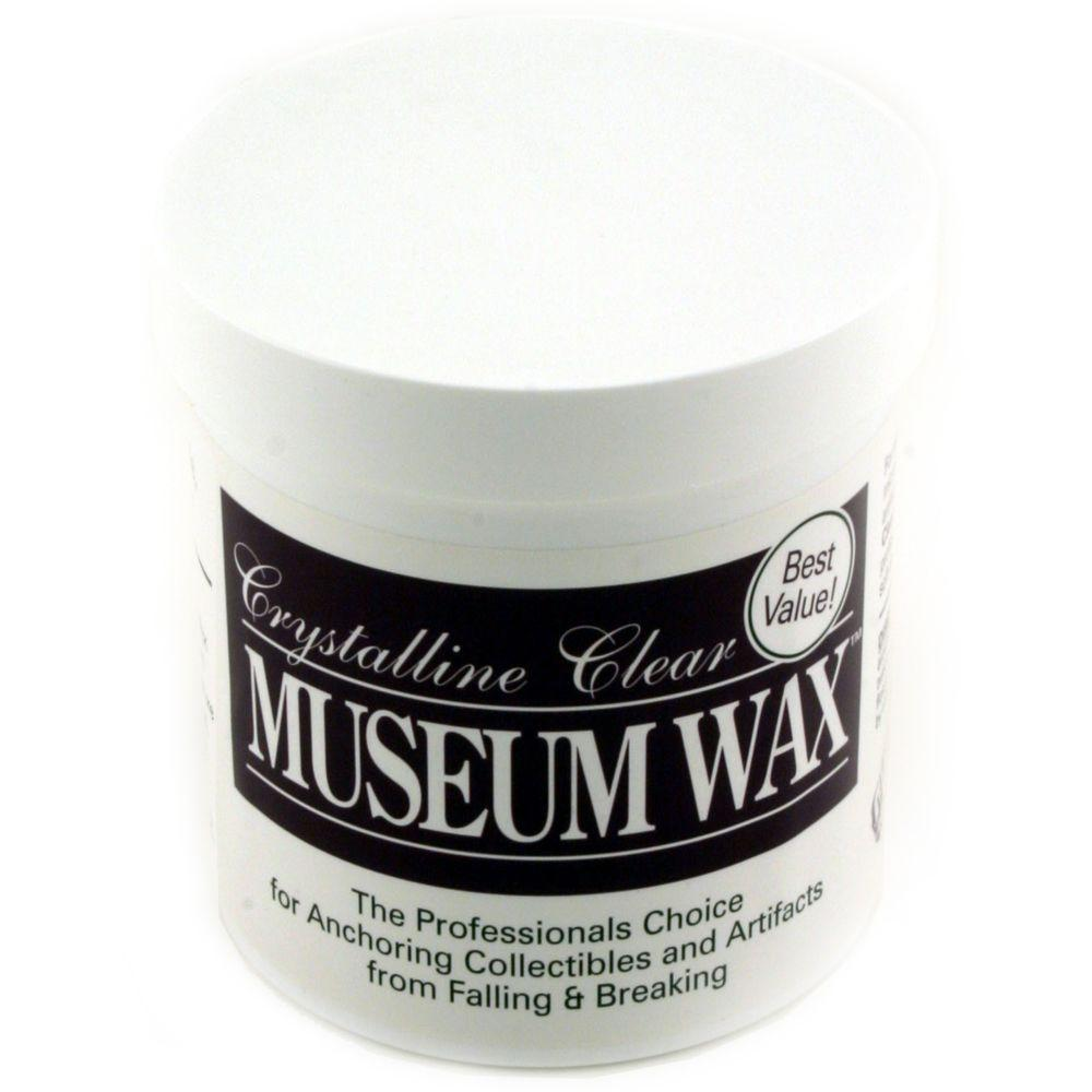 QuakeHOLD! 13 oz. Crystalline Clear Museum Wax