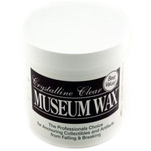 Free Shipping To Have A Long Historical Standing Quake Hold! New Crystalline Clear Museum Wax 2 Oz