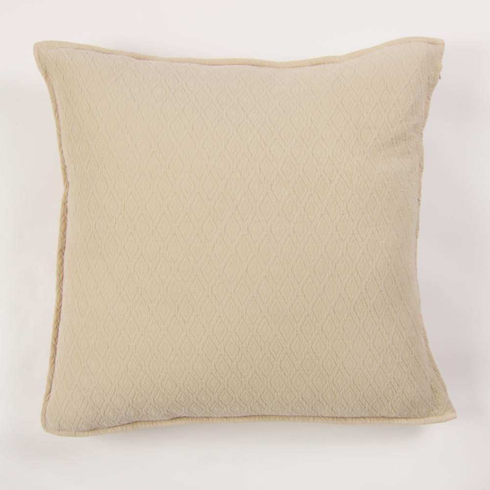 Diamond Linen Euro Pillow Insert