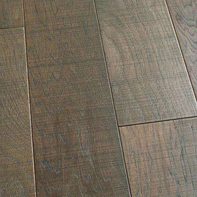 Hickory Manresa 3/8 in. T x 6-1/2 in. W x Varying L Engineered Click Hardwood Flooring (23.64 sq. ft. / case)