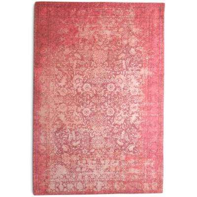 Antibes Over-Dyed Traditional Red 5 ft. x 7 ft.  Area Rug