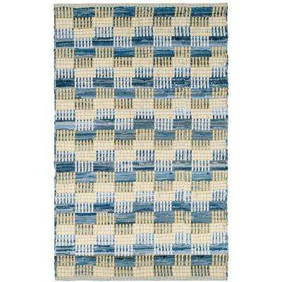 Montauk Gold/Multi 2 ft. 6 in. x 4 ft. Area Rug