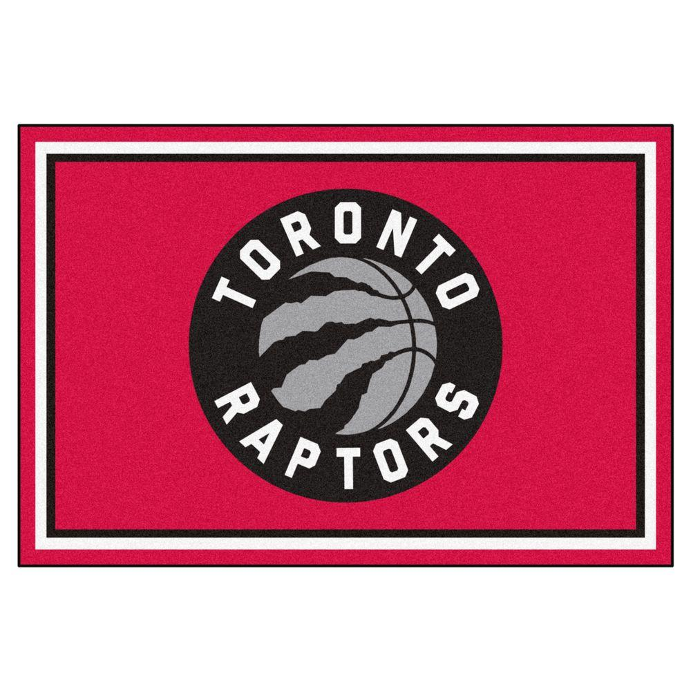 Fanmats Nba Toronto Raptors Red 5 Ft X 8 Indoor Area Rug 9419 The Home Depot
