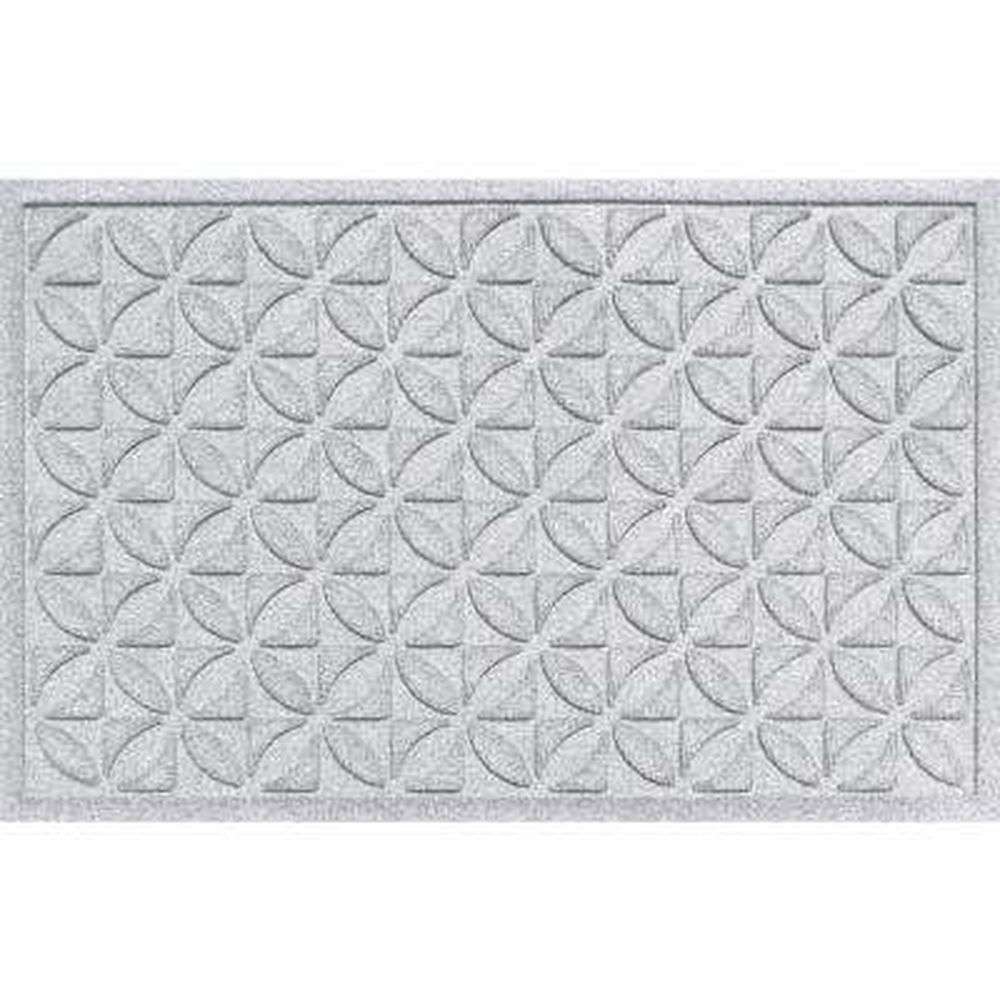 Heritage White 24x36 Polypropylene Door Mat