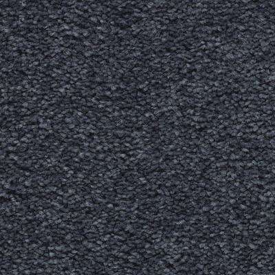 Carpet Sample - Unblemished I - Color Blueprint Textured 8 in. x 8 in.