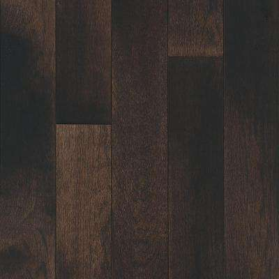 Tranquil Woods Misty Fog Hickory 3/4 in. Thick x 5 in. Wide x Varying Length Solid Hardwood Flooring (23.5 sq. ft./case)
