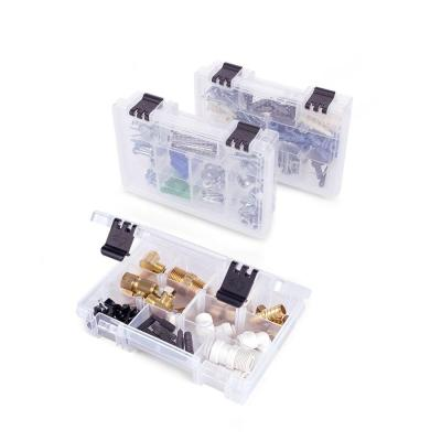 7 in. 10-Compartment Bin Small Parts Organizer (3-Pack)