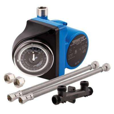 Hot Water Recirculating System with Built-In Timer