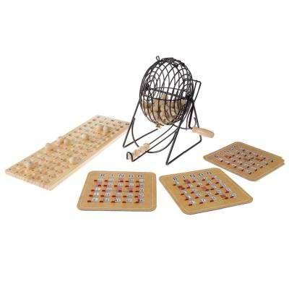 Deluxe Bingo Game with Accessories