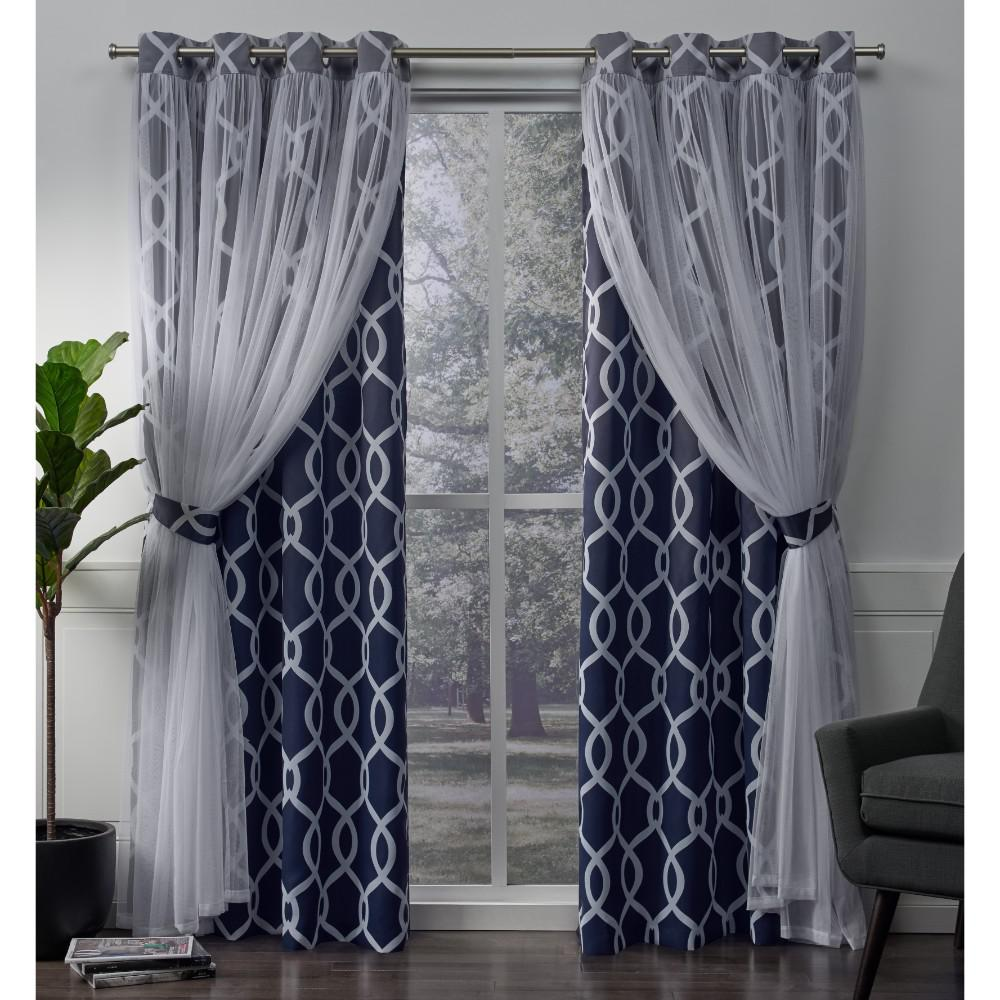 How to layer curtains with sheers