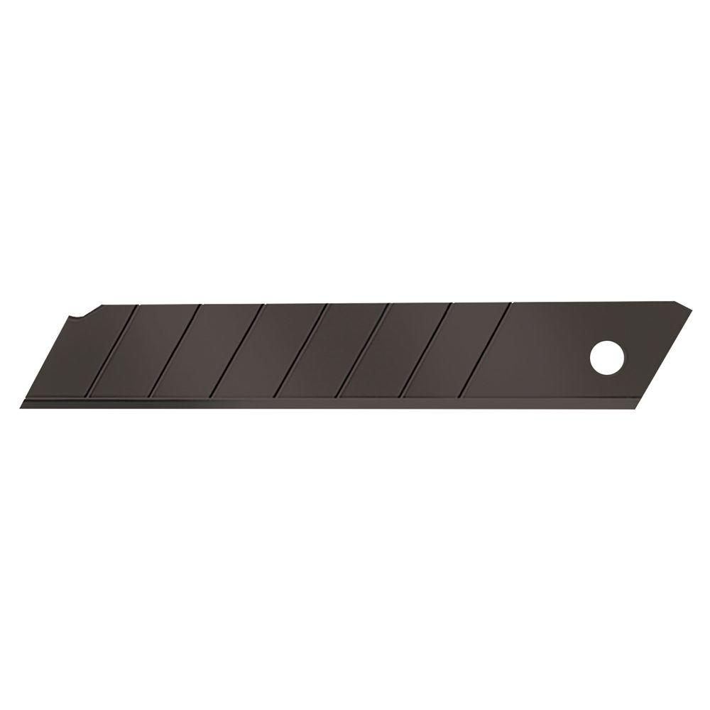 18 mm Black Snap Knife Blades (10-Pack)