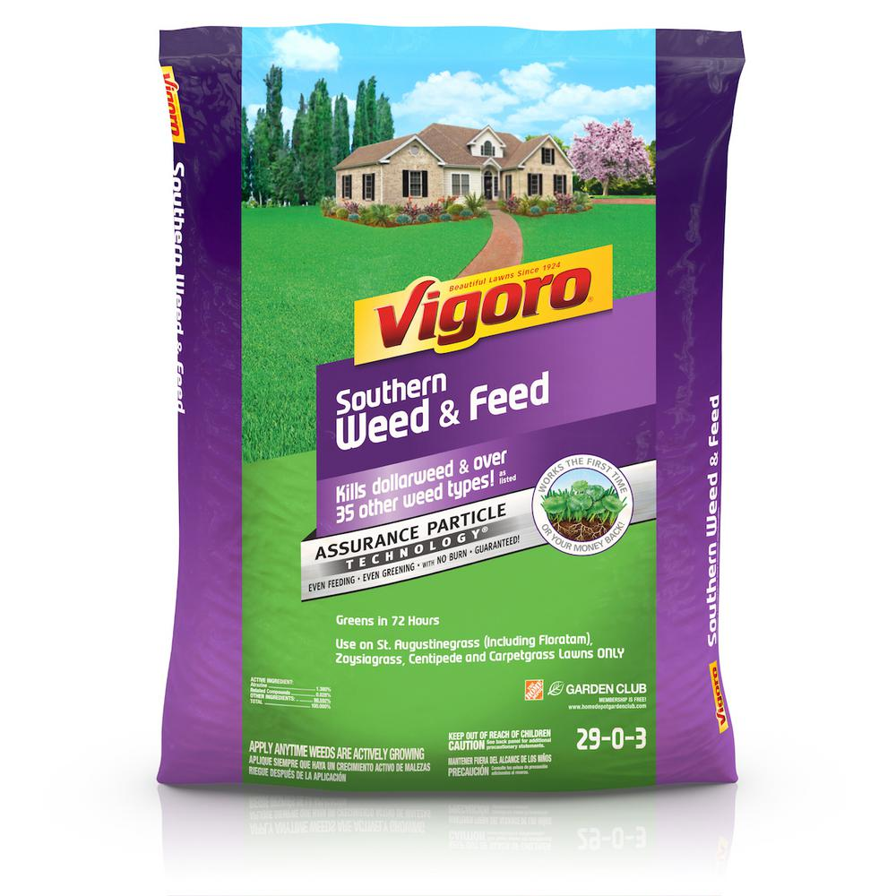 Vigoro Southern Weed and Feed 33.3 lb. 10,000 sq. ft. Lawn Fertilizer