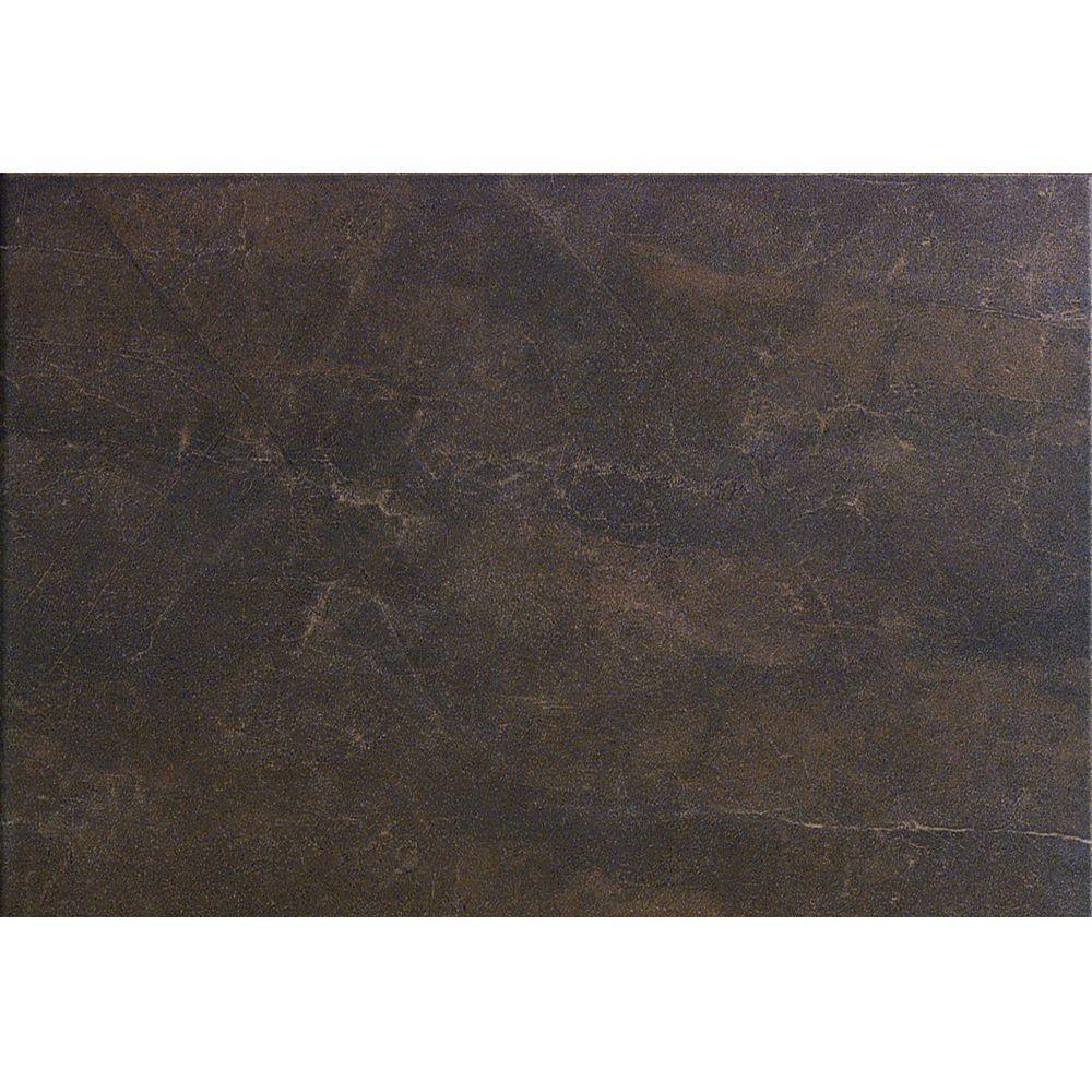U.S. Ceramic Tile Avila 24 in. x 12 in. Marron Porcelain Floor and Wall Tile (14.25 sq.ft. /case)-DISCONTINUED