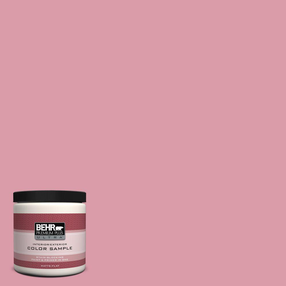 8 oz. #110C-3 Glamour Matte Interior/Exterior Paint and Primer in One