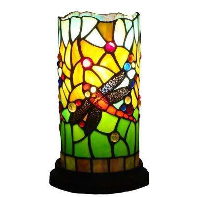 10 in. Tiffany Style Dragonfly Mini Table Lamp