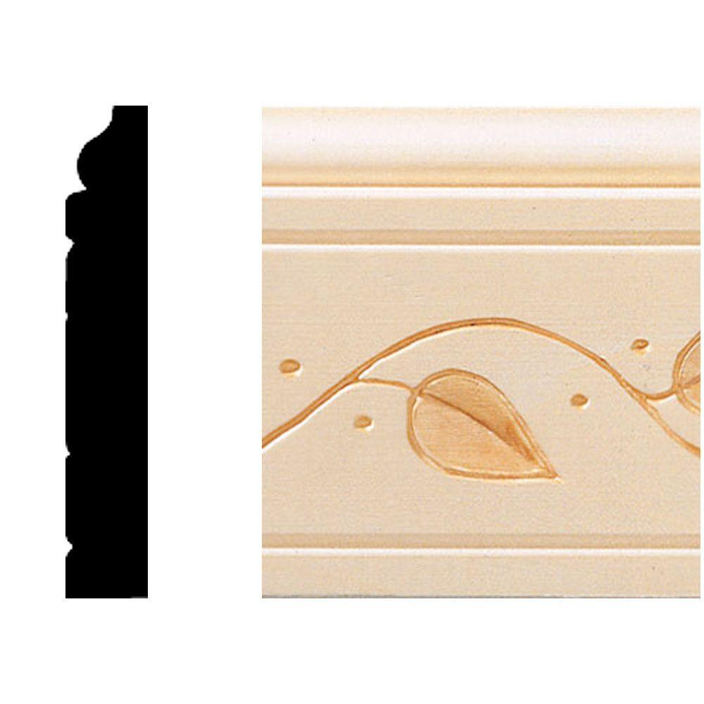 House of Fara 1/2 in. x 3 in. x 8 ft. Hardwood Base Moulding