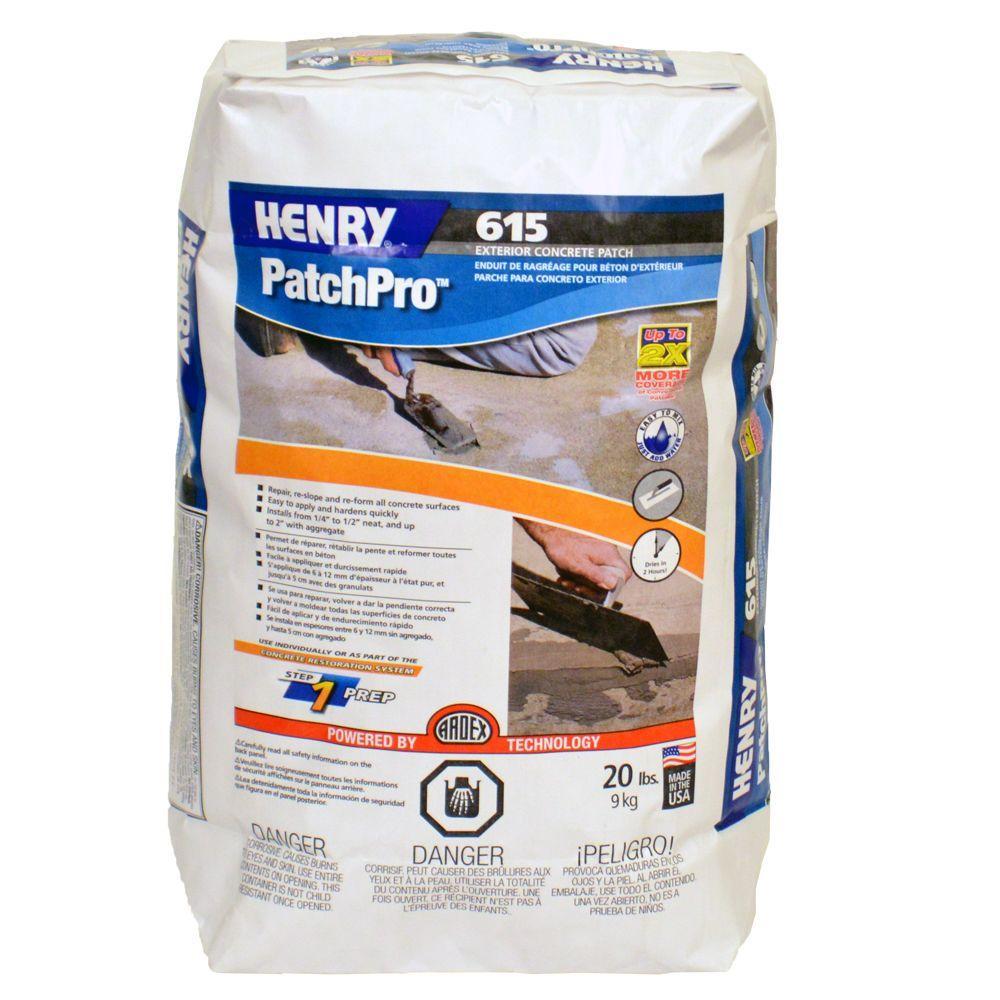 Henry 20 lb. 615 PatchPro Concrete Patch