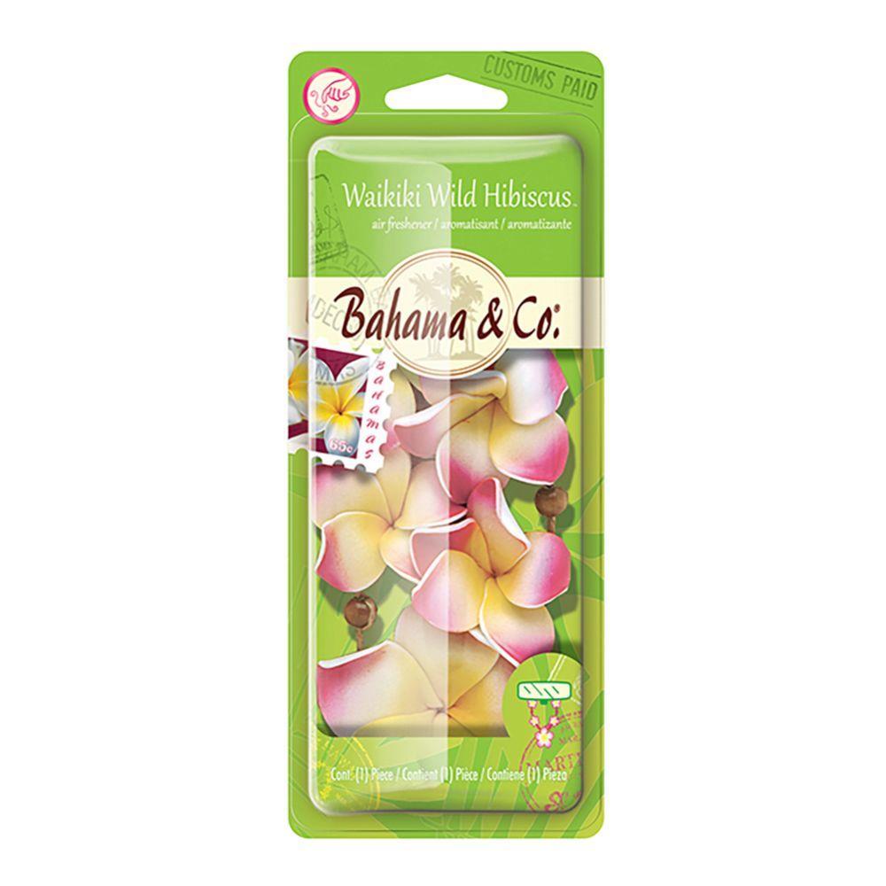 Bahama Co Hanging Air Freshener Flower Necklace Wild Hibiscus