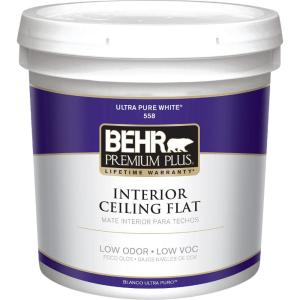 behr paint colors interior home depot behr premium plus 2 gal white flat ceiling interior paint 26442
