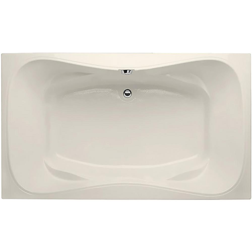 Hydro Systems Studio Lacey 5 ft. Shallow Depth Air Bath Tub with ...
