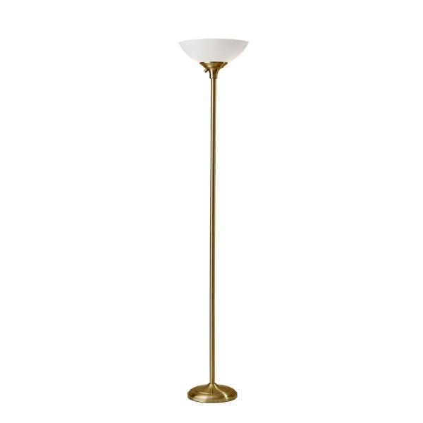 Glenn 71 in. Brass Floor Lamp