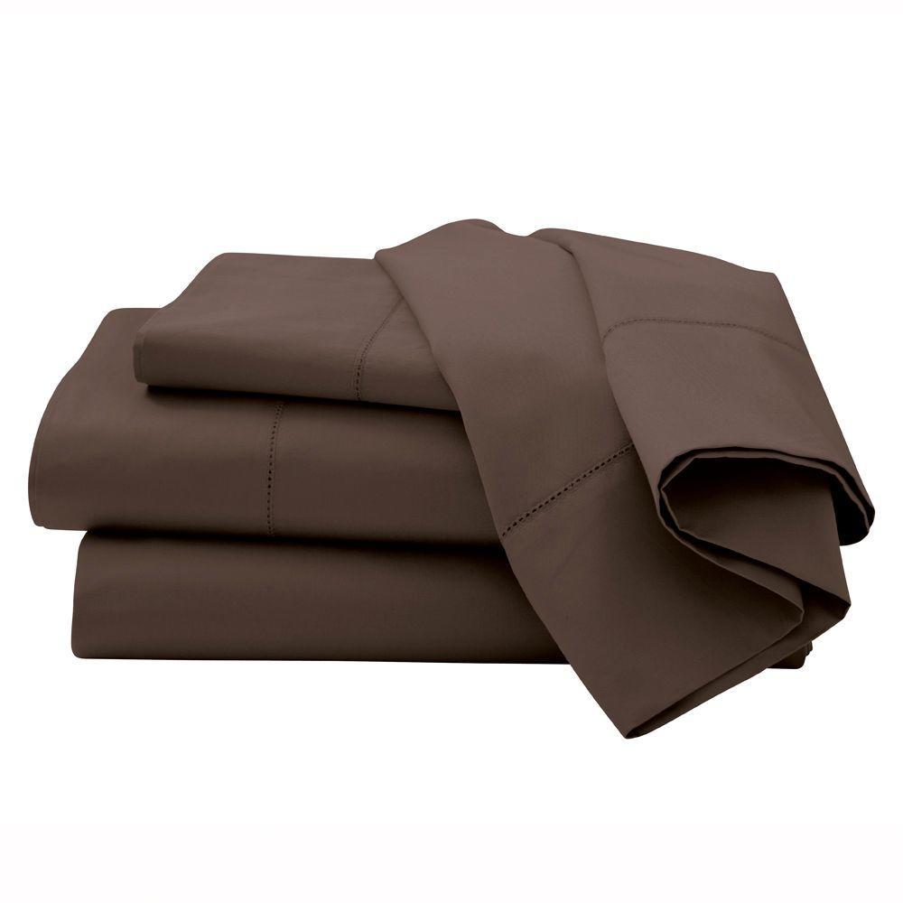 Home Decorators Collection Hemstitched Pinecone Path King Sheet Set