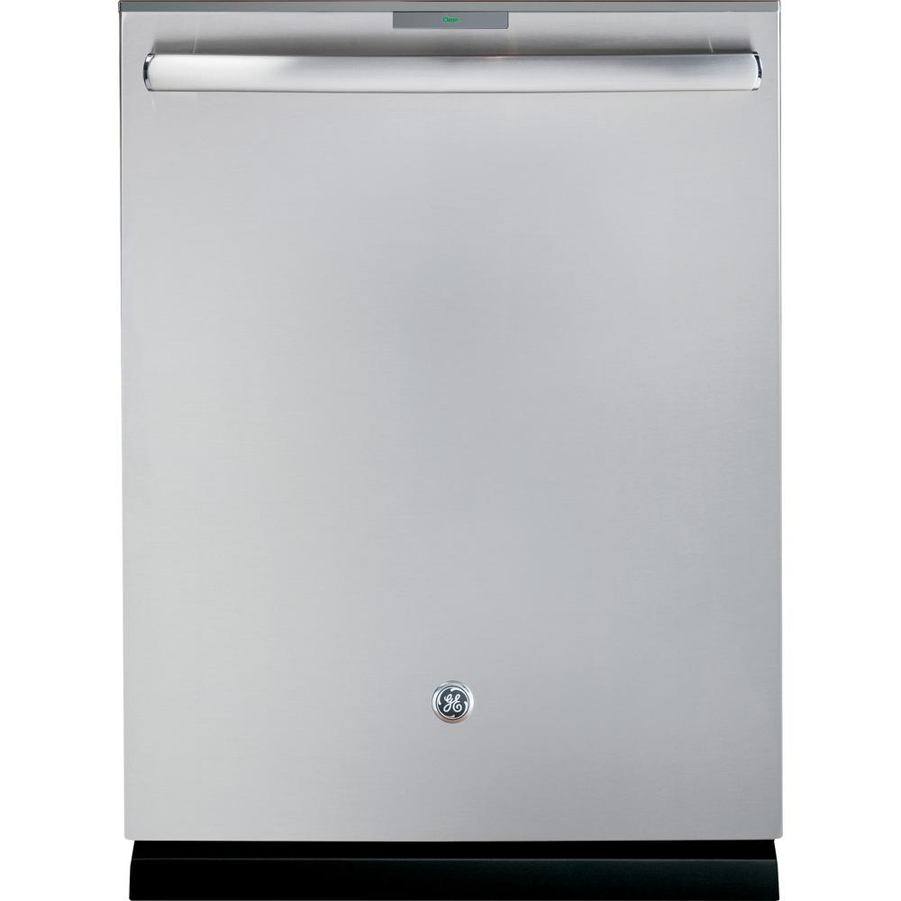 GE Profile Top Control Dishwasher in Stainless Steel with Stainless Steel Tub and Bottle Jets, 42 dBA