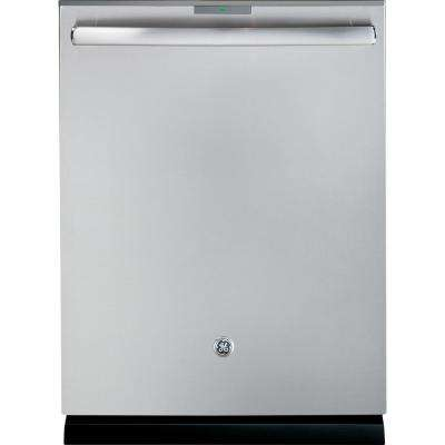Top Control Dishwasher in Stainless Steel with Stainless Steel Tub