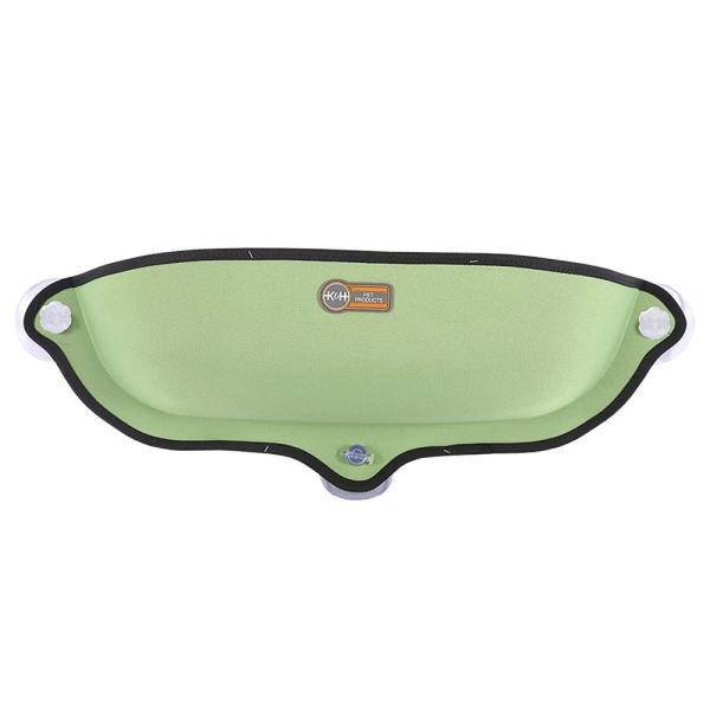 Medium Green EZ Mount Window Bed Kitty Sill 27'' x 11''