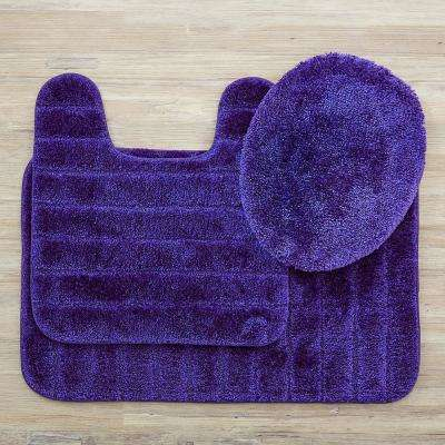 Veranda Bath Rug Midnight Set