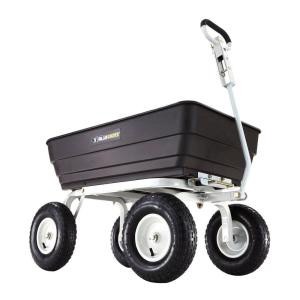 Gorilla Carts 1,000 lb. Heavy-Duty Poly Dump Cart by Gorilla Carts