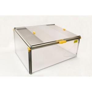 Biostar 3 ft. 4in. W x 2 ft. 6 in. D x 1 ft. 8.5 in. H Premium Cold Frame with Dual Purpose Screen or Polycarbonate Lid