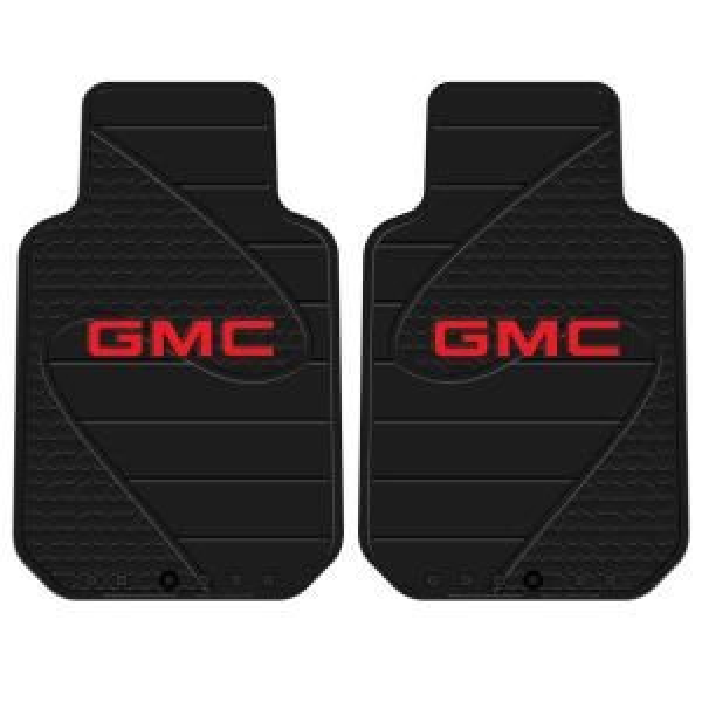 GMC Heavy Duty Vinyl 31 inch x 18 inch Floor Mat by