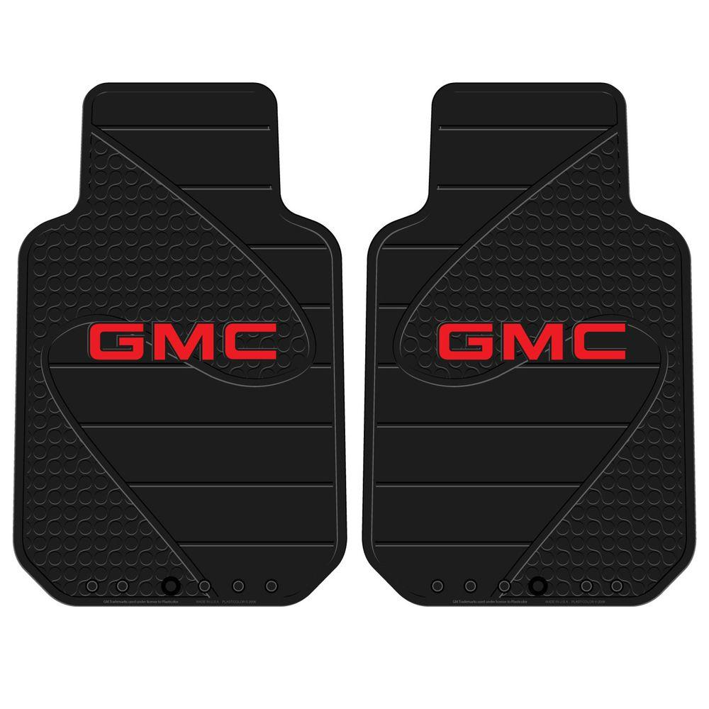 Plasticolor Gmc Heavy Duty Vinyl 31 In X 18 Floor Mat