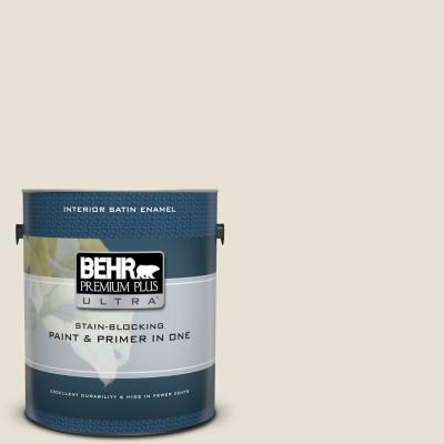 BEHR ULTRA 1 gal  Ultra Pure White Satin Enamel Interior