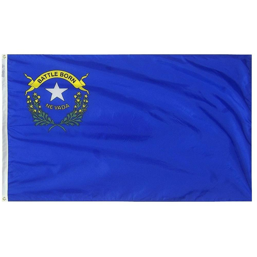 Annin Flagmakers 3 ft. x 5 ft. Nevada State Flag