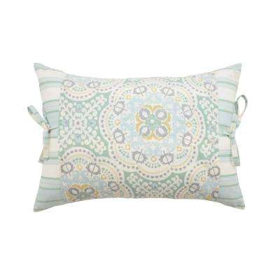 Astrid Cotton Oblong Mineral Decorative Pillow (Set of 1)