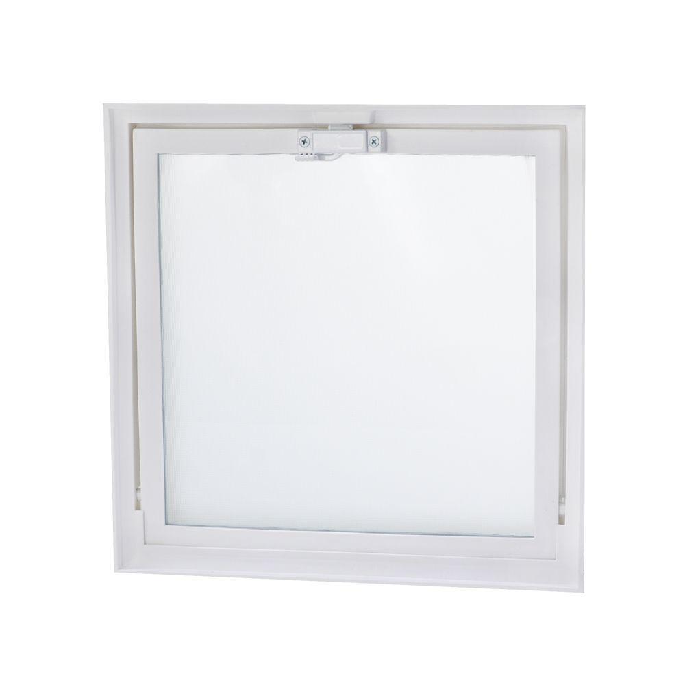 TAFCO WINDOWS 15.75 in. x 15.75 in. Hopper Vent Screen Window