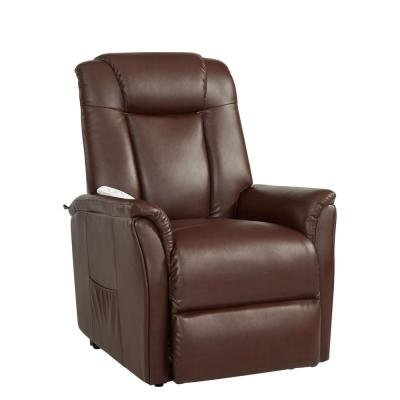 Worcherster Power Recliner Lift Chair in Cognac