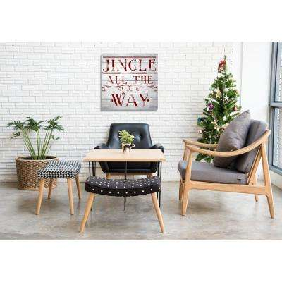 """""""Jingle All The Way"""" by Oliver Gal Canvas Wall Art"""