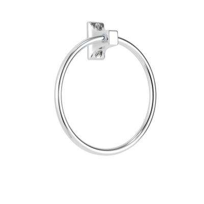 Sutton Towel Ring in Chrome