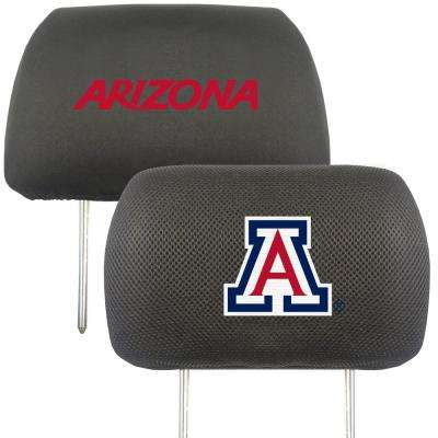 NCAA University of Arizona Embroidered Head Rest Covers (2-Pack)