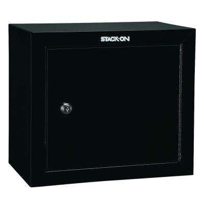 2-Gun Key Lock Handgun Ammo Security Cabinet